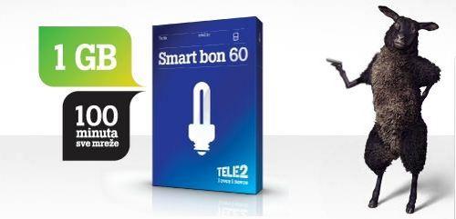 Tele2 Smart bon 60 tarifa