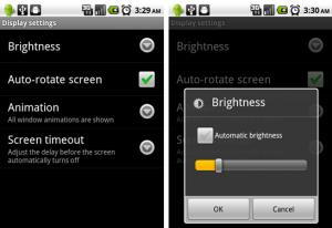 Podešavanje svjetline ekrana na Android mobitelu
