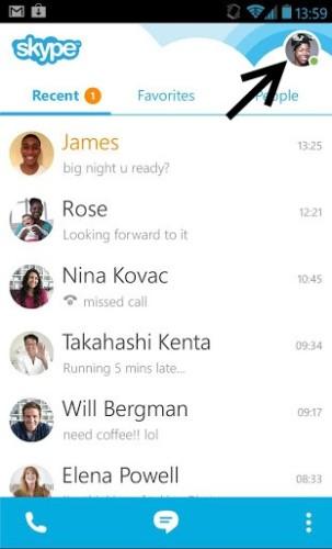 Kako ugasiti skype na Androidu