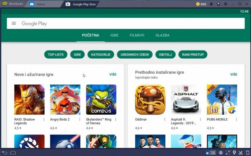 Najbolja android online aplikacija